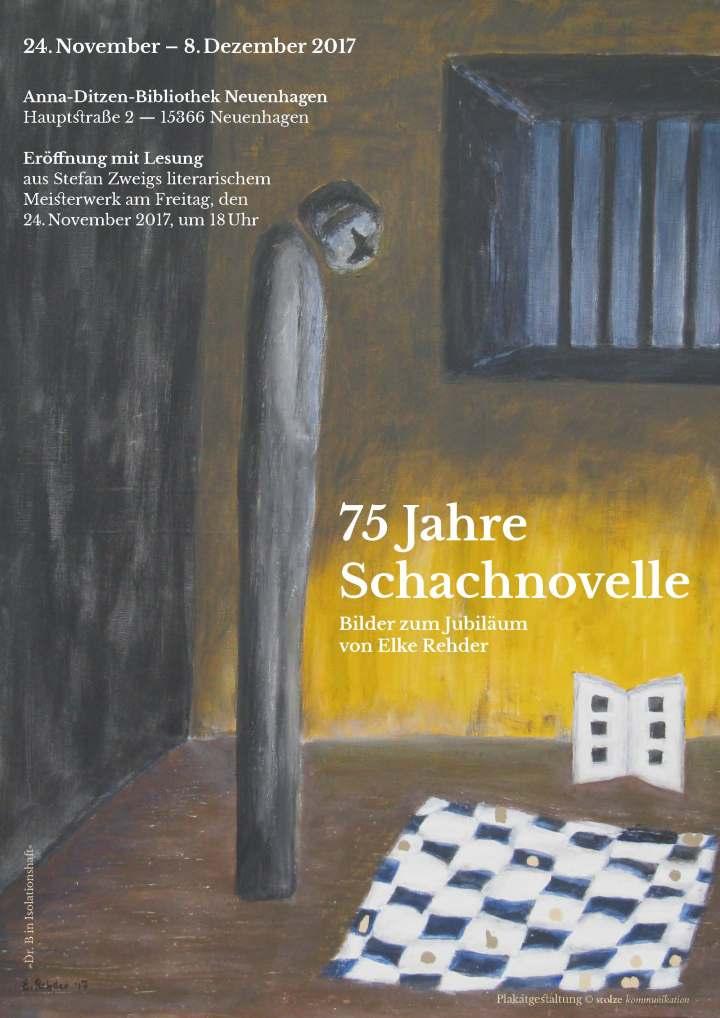 Schachnovelle-Plakat